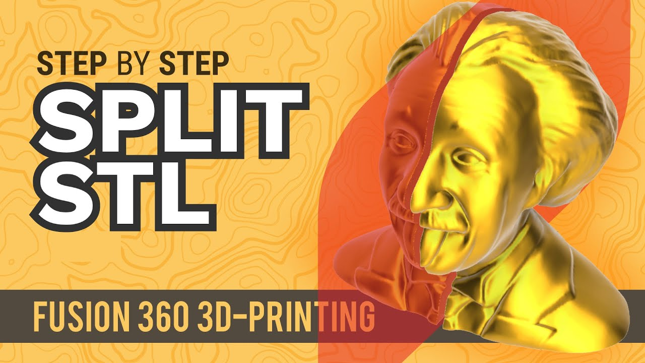 Fusion 360: Split Large STL files for 3D Printing