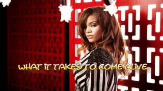 Rihanna We Found Love Feat Calvin Harris Lyrics On Screen [New Song 2011](Dubstep)