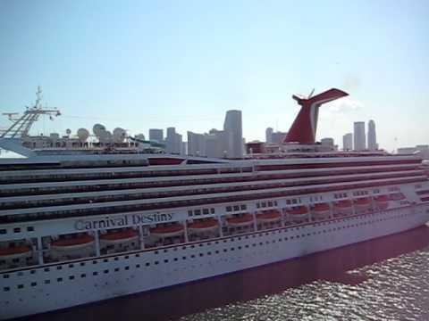 Carnival Cruise Ship Horn Wars  YouTube