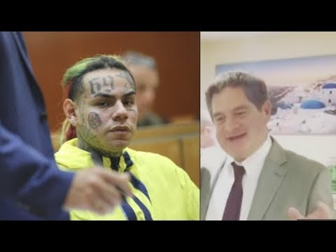 6ix9ine Lawyer Says He's Coming Home, Turns Up To Party