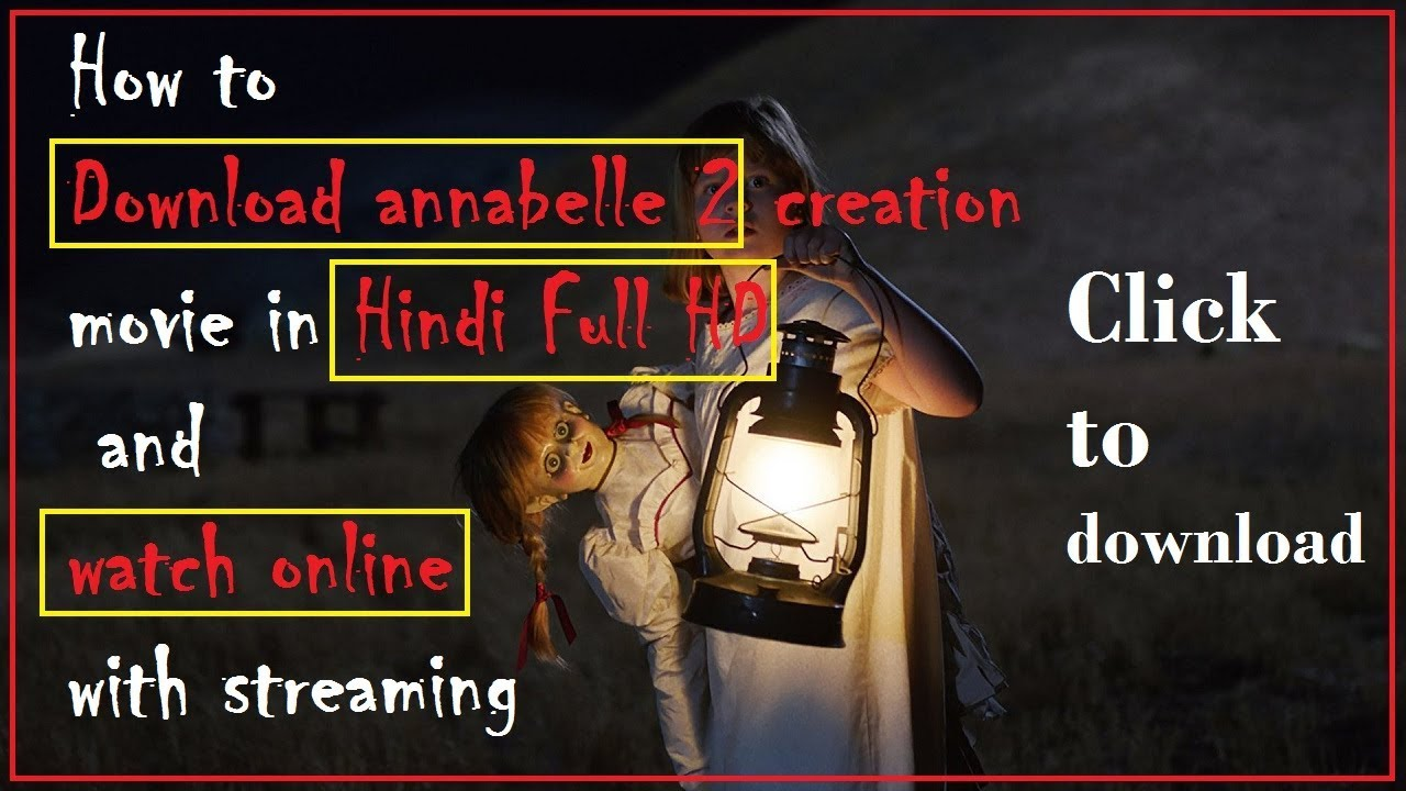 annabelle creation download in hindi 480p