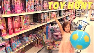 Walmart Toy Hunt Shopping Spree Barbie Shopkins Season 7 Monster High Mc2 Hatchimals Toy Haul