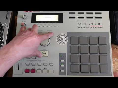 Check de la AKAI MPC2000 - Cool ou pas cool !?