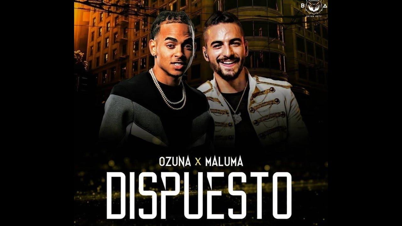Maluma Ft Ozuna Dispuesto Remix Edit Dj Salva Garcia 2019 Youtube