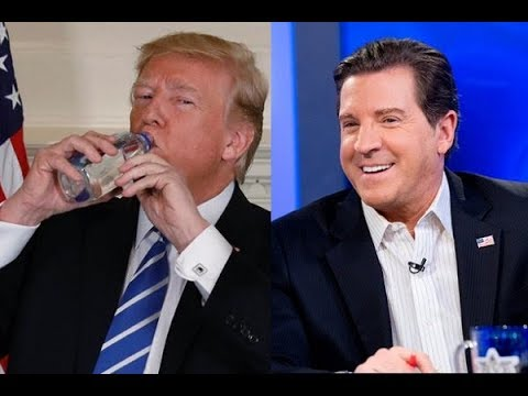 Lib Journalists Attack Trump For Drinking Fiji Water, Eric Bolling Destroys Them With 1 Fact
