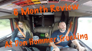 Team Otr Trucking | 6 month Don Hummer Trucking Review