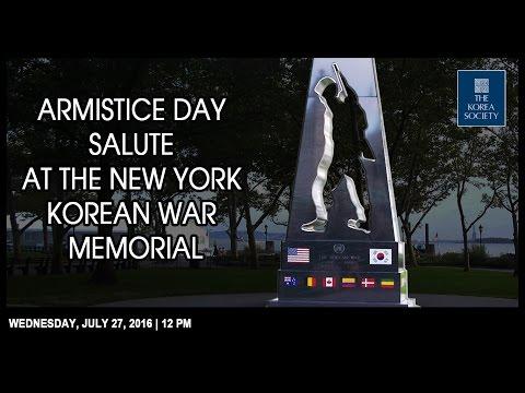 National Korean War Veterans Armistice Day Memorial Ceremony
