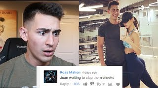 REACTING TO MEAN COMMENTS ABOUT MY RELATIONSHIP...