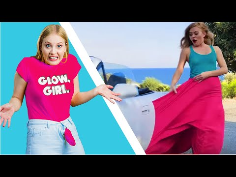 GIRL PROBLEMS WITH CLOTHES || Fashion struggles by 5-Minute FUN