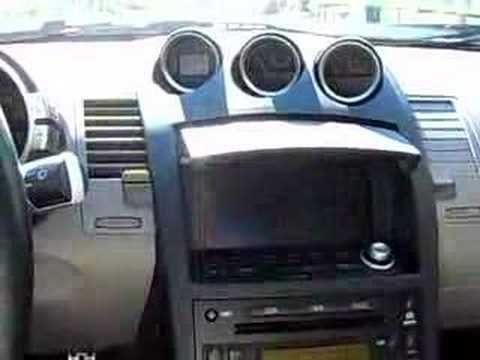 2005 Nissan 350z Touring Navigation Youtube