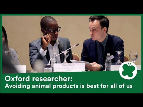 Oxford University presentation: The road to sustainable agriculture