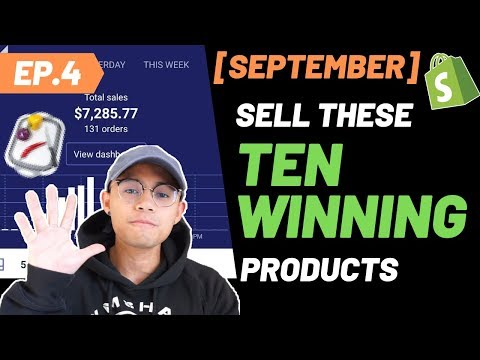 SEPTEMBER'S TOP 10 WINNING PRODUCT TO SELL NOW WITH DROPSHIPPING thumbnail
