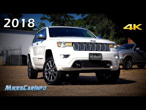2018 Jeep Grand Cherokee Overland - Ultimate In-Depth Look in 4K