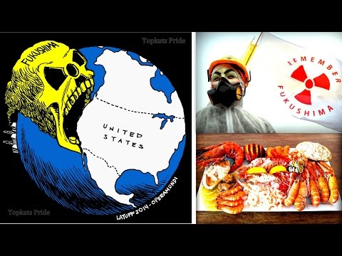 Fukushima Nuclear Waste On  USA Beaches & In Seafood! Update 2017