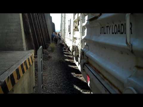 Port Chicago Naval Magazine National Memorial, Revetment, rail car, California, October 2016
