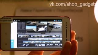 обзор BEDOVE X12 смартфон MTK6577 3G GPS
