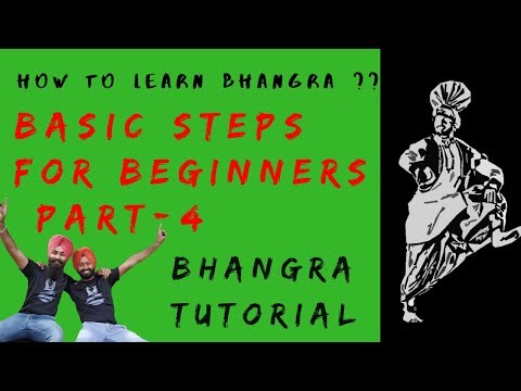 Bhangra Tutorial for Beginners || Part 4 || How to Learn Bhangra || Bhangra Planet Tutorials
