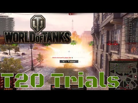 World of Tanks - 2x Tuesday - The T20 is not easy - April 10th 2018
