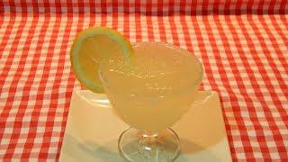 Cómo hacer granizado de limón natural receta fácil