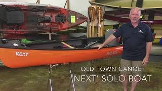 Old Town NEXT Solo Canoe