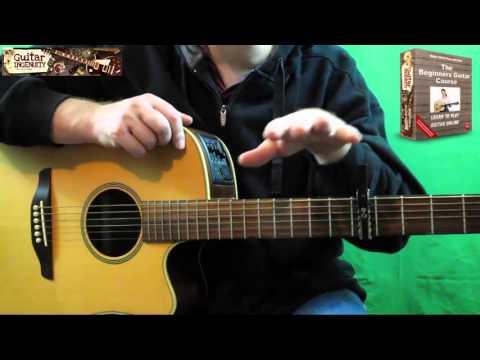 Silent Night Guitar Chords - Slightly Advanced Version