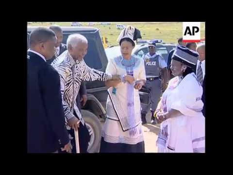 Mandela sees grandson reclaim family's traditional leadership role