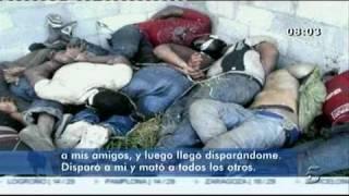 Repeat youtube video Habla el superviviente ecuatoriano de la matanza de inmigrantes en el norte de México