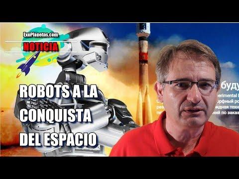 Rusia manda al espacio a su robot androide FEDOR
