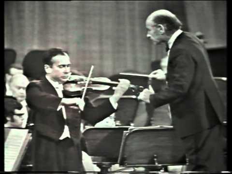 Henryk Szeryng,Czech Phil.,Brahms Concerto 1(1/2) Live Prague Spring