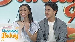 Magandang Buhay: KathNiel and LizQuen's message to Maymay and Edward