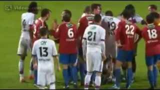 Ça chauffe lors de la demi-finale entre Ajaccio et Lyon