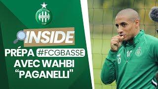 """VIDEO: La prépa de #FCGBASSE avec Wahbi """"Paganelli"""""""