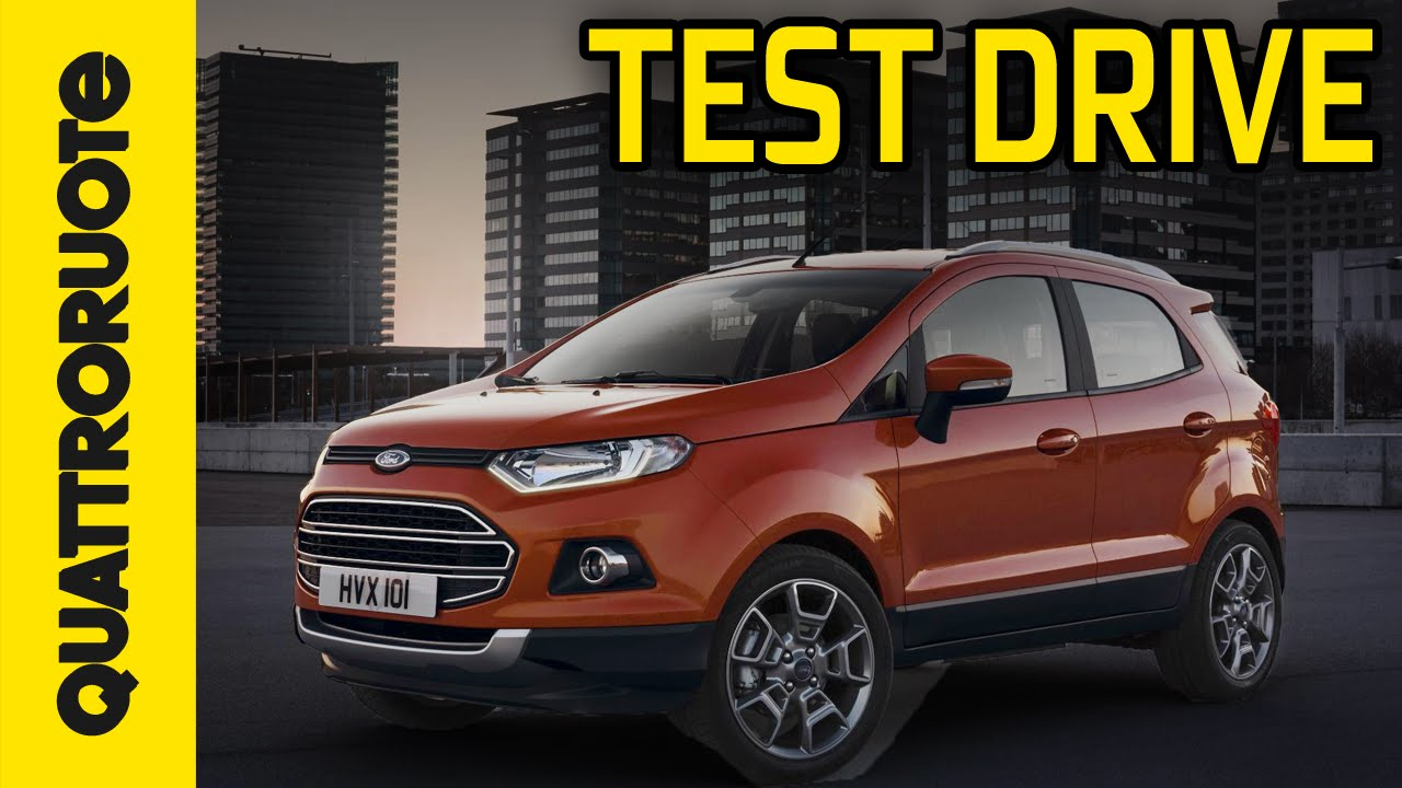 ford ecosport 2015 test drive youtube. Black Bedroom Furniture Sets. Home Design Ideas