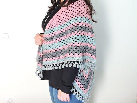 Chal de ganchillo - Crochet Shawl