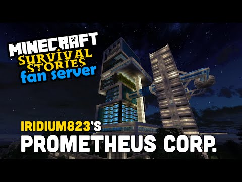Fan Server Base Tours - Iridium823: Prometheus Corp HQ. - Build Showcase