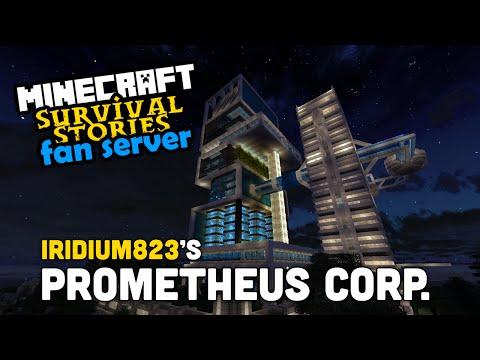 Fan Server Base Tours - Iridium823: Prometheus Corp HQ. - Build Showcase