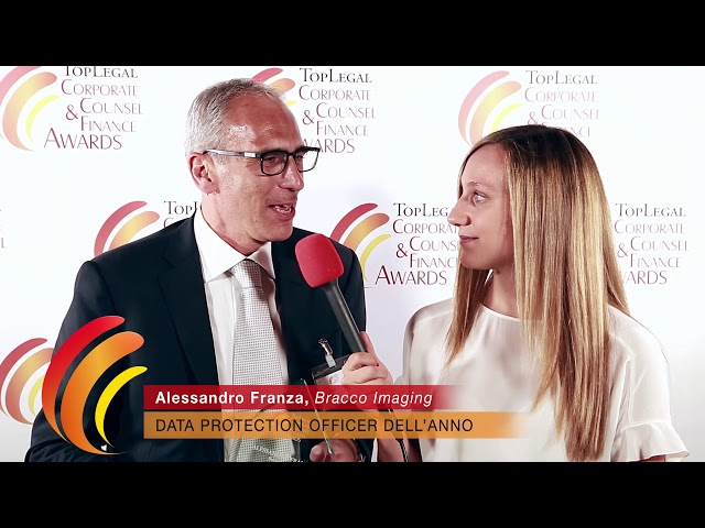 Alessandro Franza, Bracco Imaging - TopLegal Corporate Counsel & Finance Awards 2019