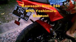 kawasaki ninja 250r yoshimura exhaust 2012