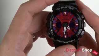 Casio G-Shock GA-120B-1ADR - review by DiscountShop.com