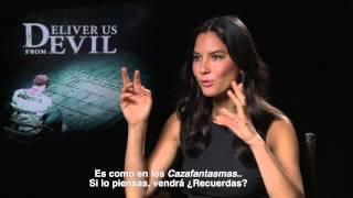Olivia Munn habla sobre Deliver Us From Evil con Alex Medela
