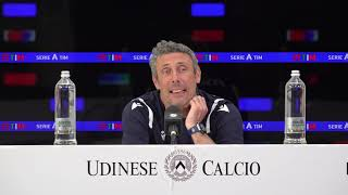 Conferenza Mister Gotti | Pre Udinese Juventus | 01:05:2021