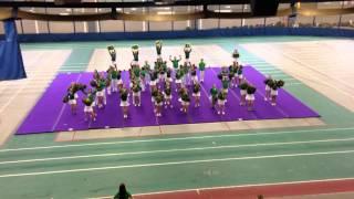 Medgames 2015 - Cheerleading Sherbrooke