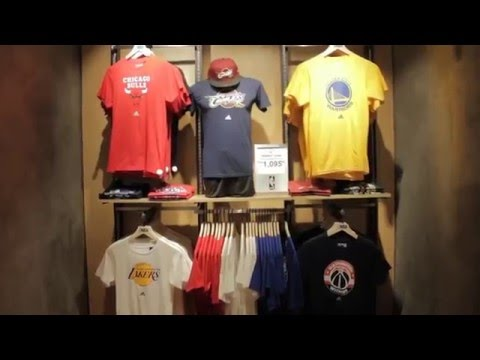 dec45bdde457 NBA Store opens 3rd store in PH - YouTube