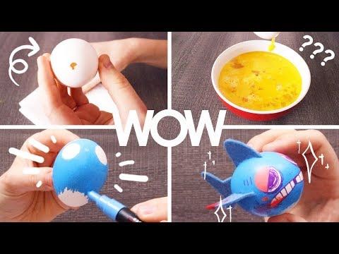 Artist puts too much effort into decorating Easter Eggs. thumbnail