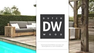 DutchWood Steigerhouten meubelen Tuinmeubelen Kasten Bedden Tafels Buitenkeukens Speelhuisjes