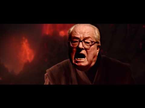 Jean Marie Le Pen Parodie Politique [Star Wars tu étais l\