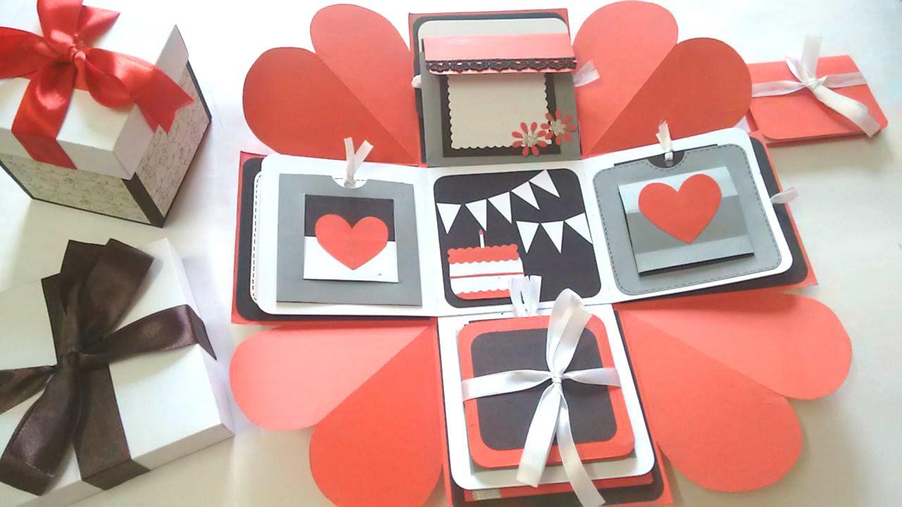 box seng Sweetheart Surprise Explosion box by Srushti patil | Inspired by  box seng