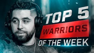 Nameless ENDED By His Former Teammate - COD WWII: TOP 5 PRO WARRIORS #14 - Call of Duty World War 2