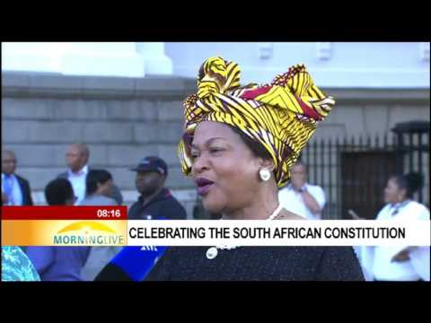 20th Constitution celebrations with Baleka Mbete