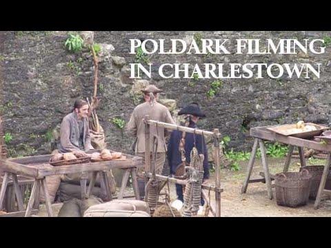 Poldark filming in Charlestown